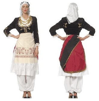 Brilliant Greek Traditional Ethnic Folklore Costumes Made In Hellas Greece By